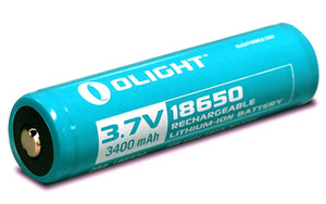 Olight 18650 3400mAh Protected Lithium-ion Rechargeable Battery - Bright Nite