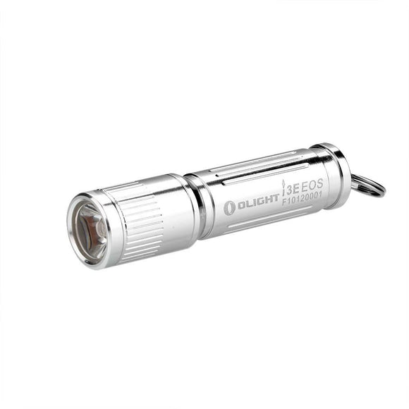 Olight I3E Silver - Every Day Carry - Bright Nite