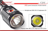 SUNWAYMAN C21C 888 Lumen LED Torch - Bright Nite