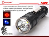SUNWAYMAN F20C 780 Lumen LED Torch - Bright Nite