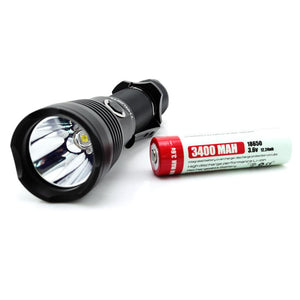ThruNite Chargeable Flashlight TC10 V2 Cool White (inc battery) - Bright Nite