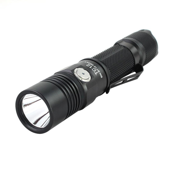 ThruNite Chargeable Flashlight TC12 Cool White - Bright Nite