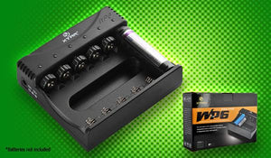 Xtar WP6II Lithium-ion battery Charger - Bright Nite