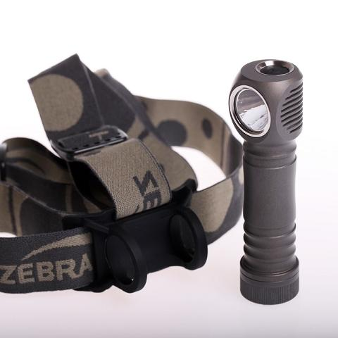 ZebraLight H600d Mk IV 18650 XHP50.2 5000K High CRI Headlamp - Bright Nite