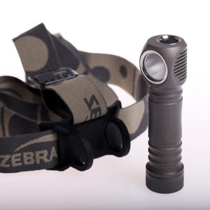 ZebraLight H600F Mk IV 18650 XHP35 Floody Cool White Headlamp - Bright Nite