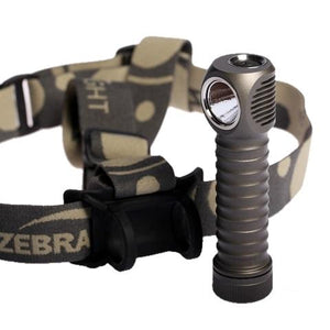 ZebraLight H600w Mk II 18650 XM-L2 Headlamp Neutral White - Bright Nite