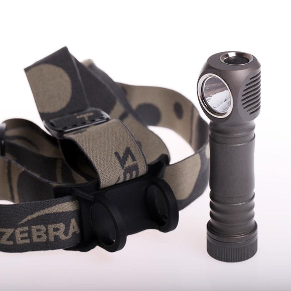 ZebraLight H603c High CRI Flood Neutral White 18650 Headlamp - Bright Nite