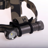 Zebralight H604d 18650 XHP50.2 Flood 5000K High CRI Headlamp