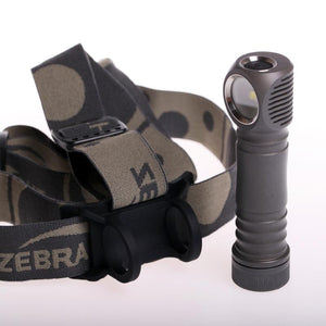 ZebraLight H604c 18650 XHP50.2 Flood 4000K High CRI Headlamp - Bright Nite