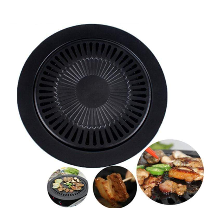 Transhome Dropshipping Kitchen Store Tool Sets Korean Style Barbecue Smokeless Grill Pan