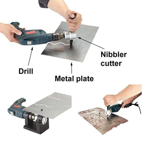 Time Fly! Tool Sets Sheet Metal Nibbler Cutter