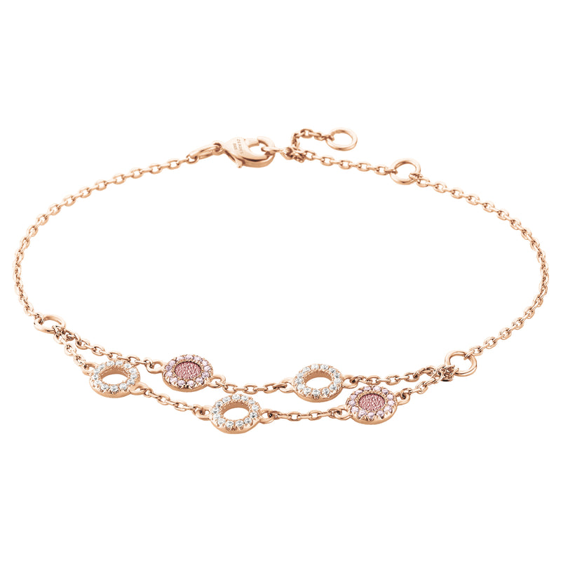 Bracelet PLONGEON-HAUT Rose RO