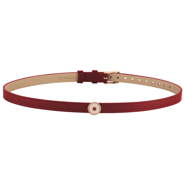 2 in 1, Choker & Bracelet BOURGEON 8DT Amaranth RO