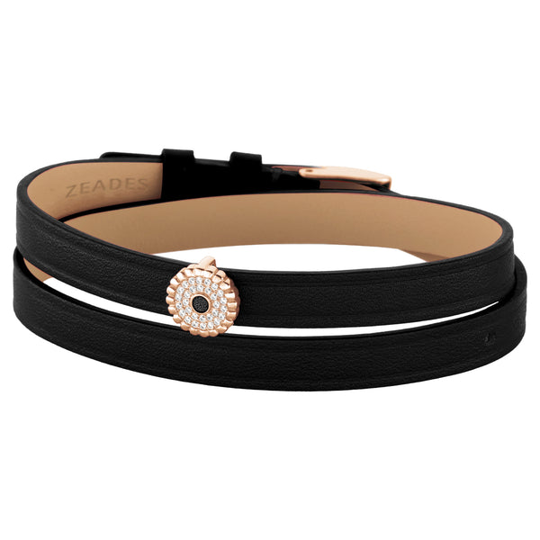 2 in 1, Choker & Bracelet BOURGEON 8DT Black RO