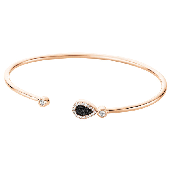 Bangle LARMES Black RO