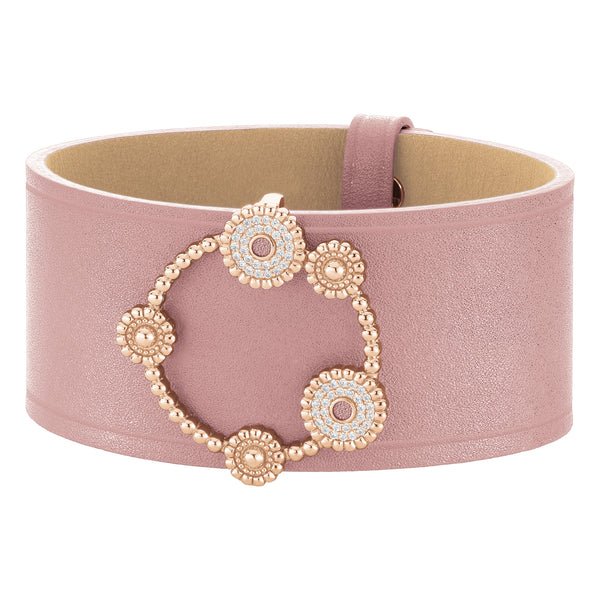 Cuff BOURGEON FLORAL Rose RO