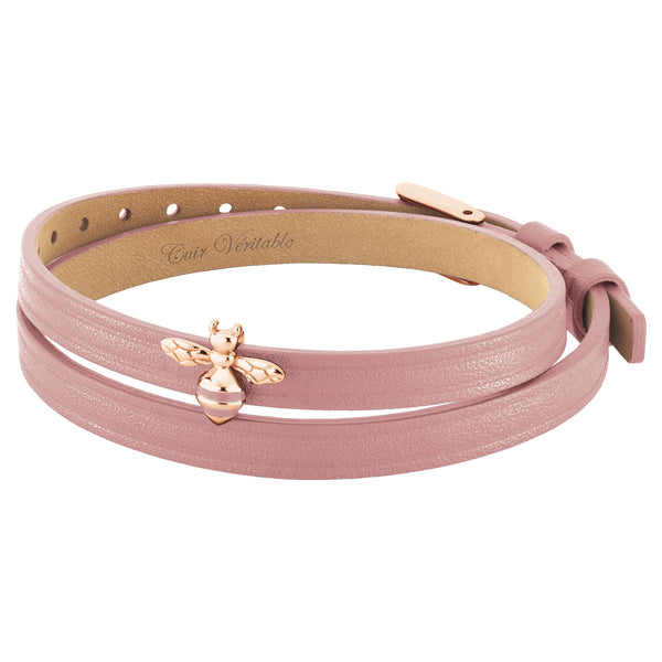 2 in 1, Choker and Bracelet ABEILLE 6DT Rose RO