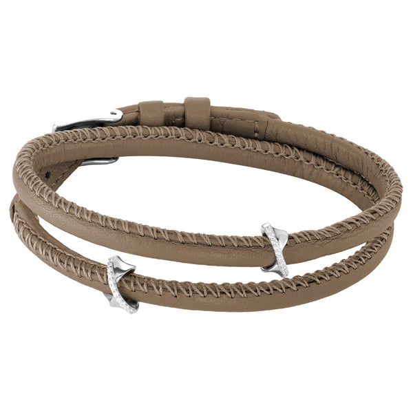 Bracelet VOYAGE SILLAGE 2R Taupe SI