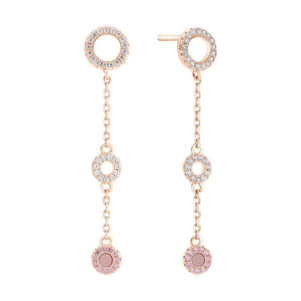 Earrings PLONGEON Rose RO