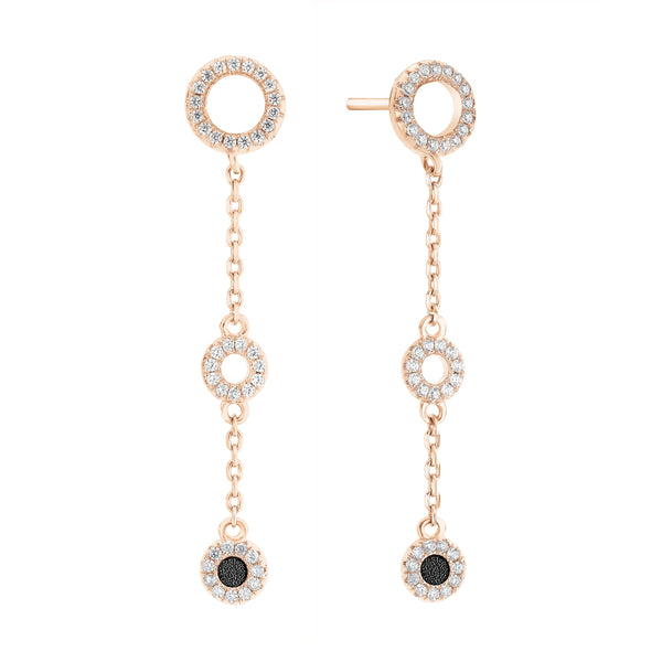 Earrings PLONGEON Black RO
