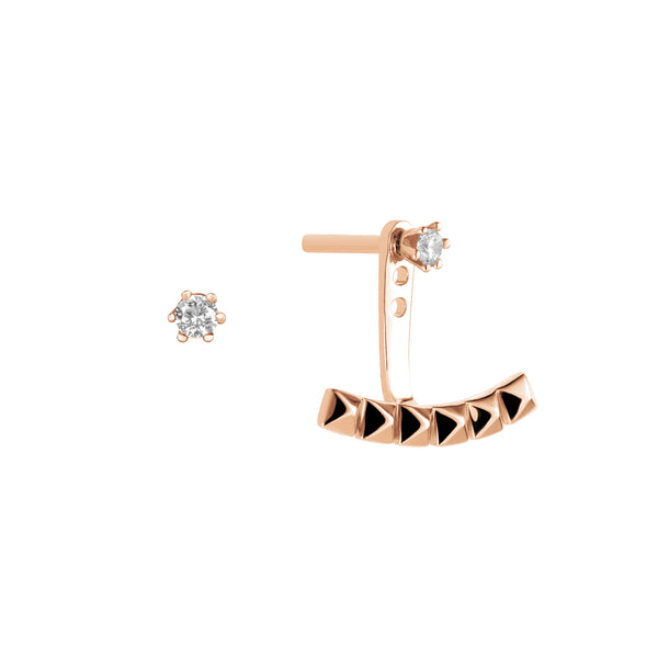 Earrings Asymmetric ARC-1 VOYAGE RO