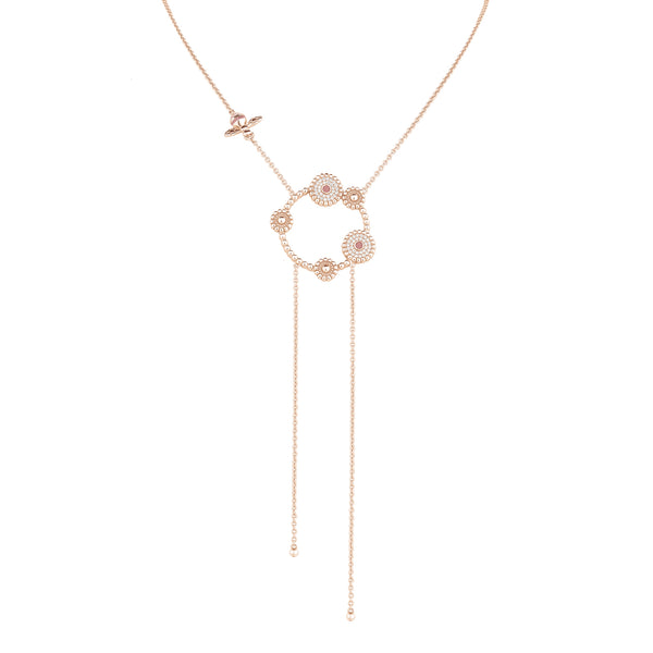 Pendant BOURGEON FLORAL Rose RO