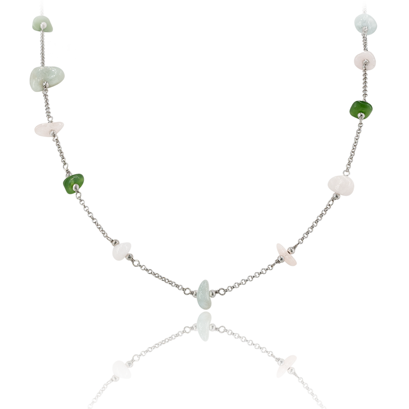 Necklace VIE OCEANE Green SI