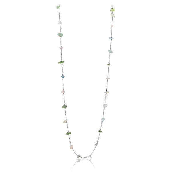 Long Necklace VIE OCEANE Green SI