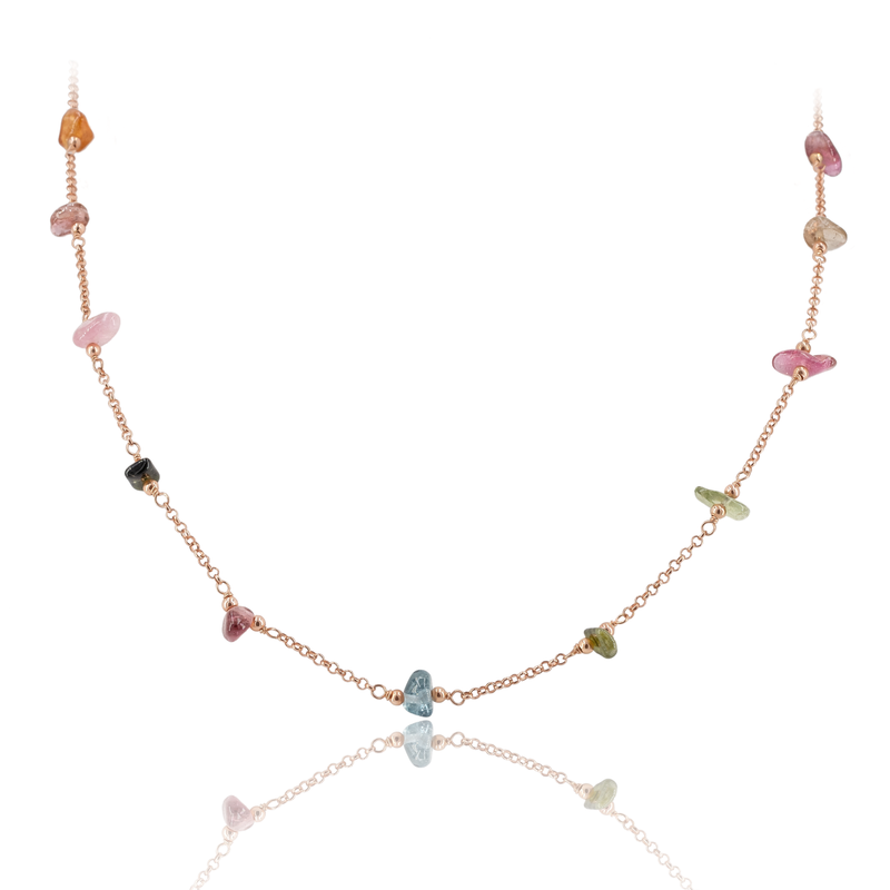 Necklace VIE OCEANE Rose RO