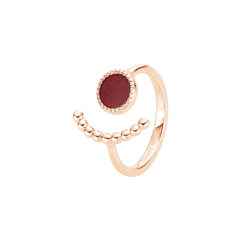 Ring PERLEE Amaranth RO