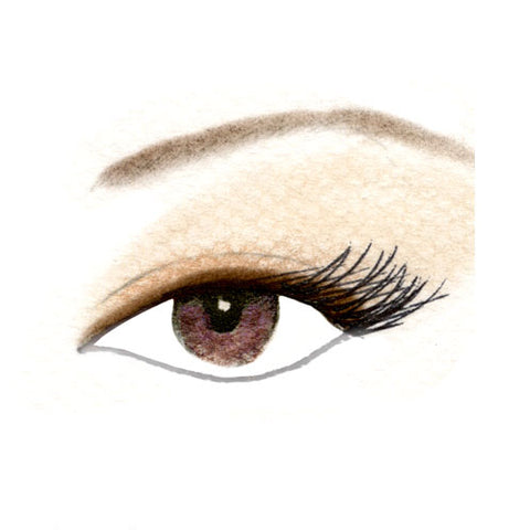 Almond Eyes Defined Eyeshadow Look