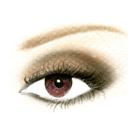 Almond Eyes Night Eyeshadow Look