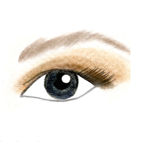 Hooded Eyes Day Eyeshadow Look