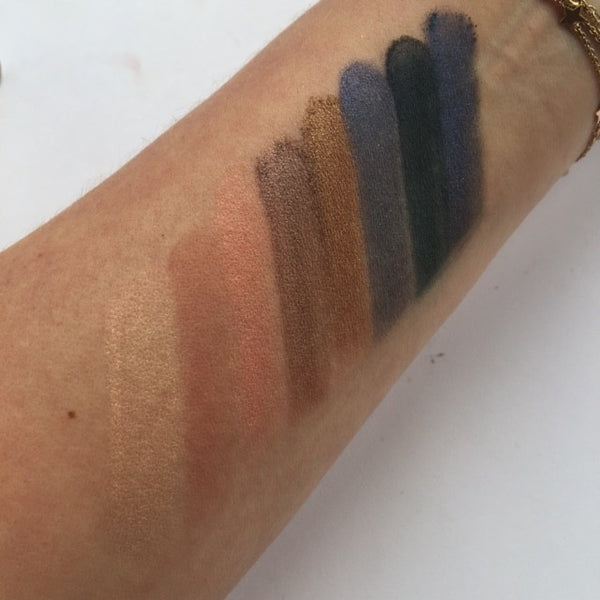 Fortune Favours The Brave Swatches - Row 1 | Makeup Revolution