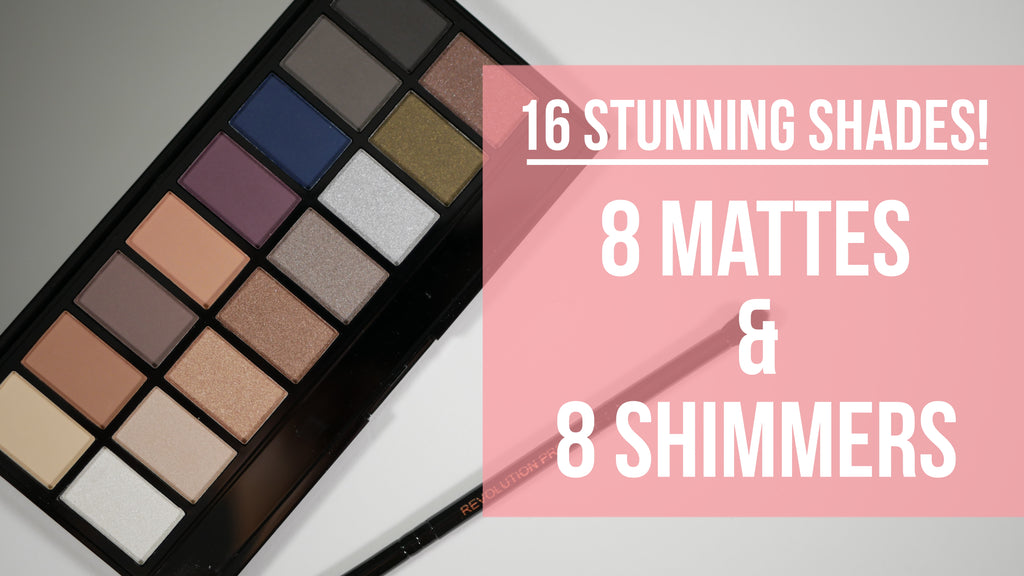Makeup Revolution Iconic Pro 2 Eyeshadow Palette 16 Shades