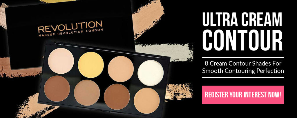 Makeup Revolution Ultra Cream Contour Palette - Register Interest