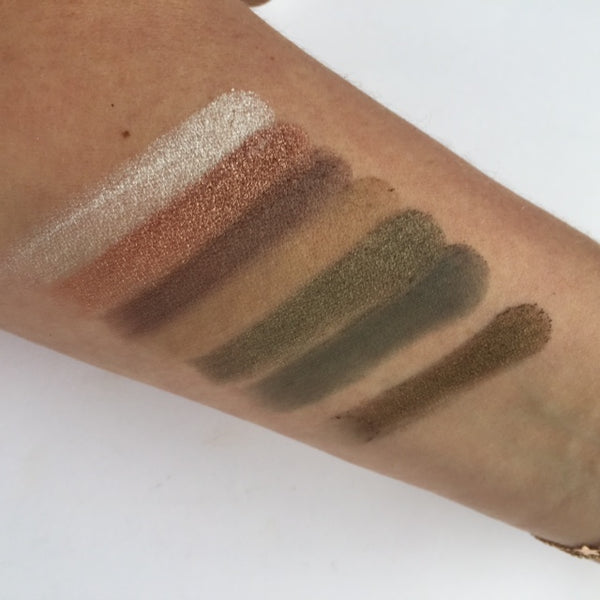 Fortune Favours The Brave Swatches - Row 2 | Makeup Revolution