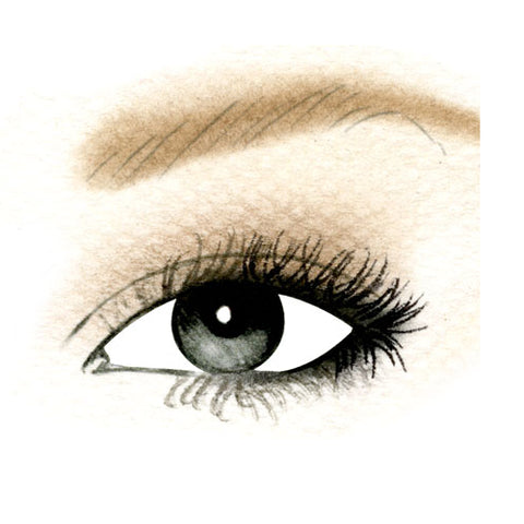 Upturned Eyes Day Eyeshadow Look
