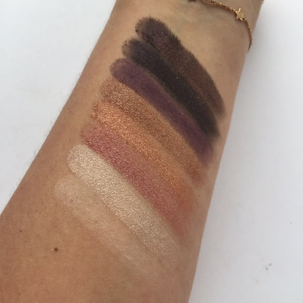 Fortune Favours The Brave Swatches - Row 4 | Makeup Revolution