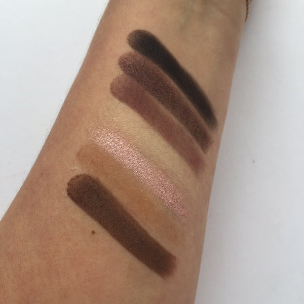 Fortune Favours The Brave Swatches - Row 3 | Makeup Revolution
