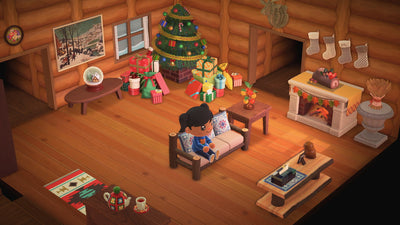 Cozy Winter Cabin Furniture Set