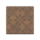Brown Iron-Parquet Flooring