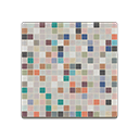 Colorful Mosaic-Tile Flooring