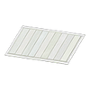White Wooden-Deck Rug