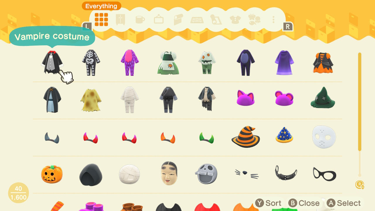 Costume & Mask Pack