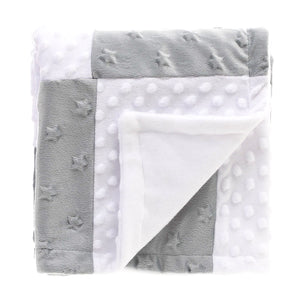 Soft Fleece Blanket - Grey