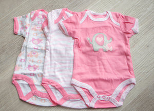 Bodysuit (3-Pack) - Elephant