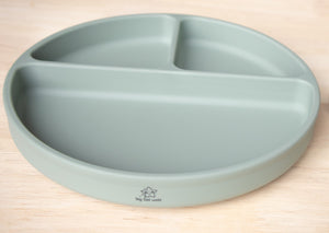 Silicone Suction Plate - Classic - Sage Green