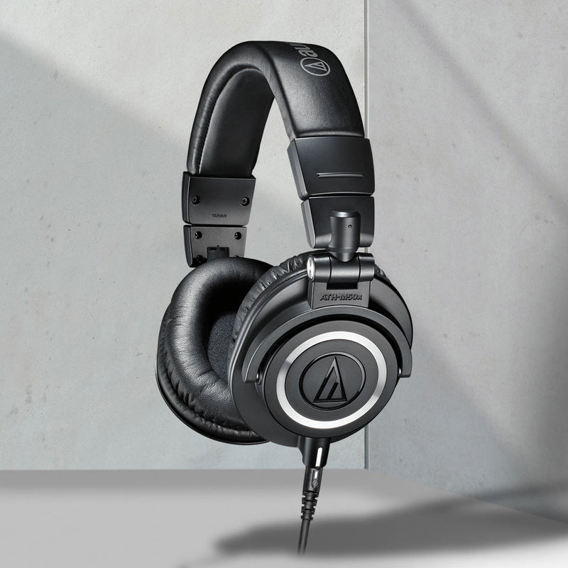 Audio-Technica ATH-M50x Over-Ear Professional Studio Headphones