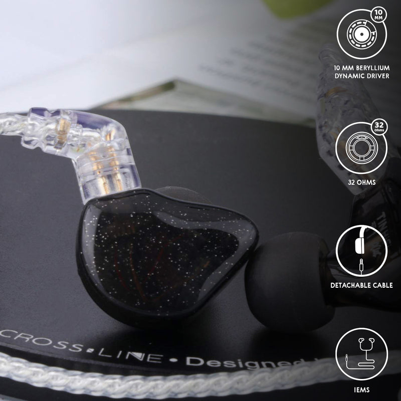 Tin HiFi T1 Plus IEM -Black